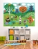 Funky Woodland Creatures Boy Mural Wall Decal