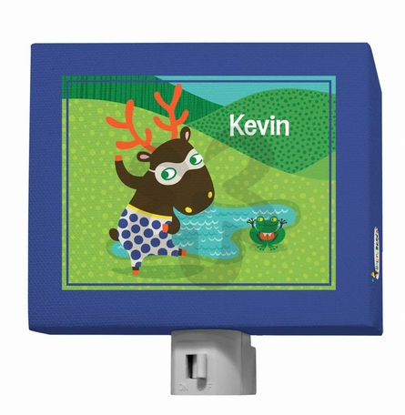 Funky Woodland Creatures Boy Night Light