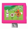 Funky Woodland Creatures Girl Nightlight