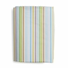 Funny Friends Stripe Fitted Crib Sheet