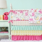 Gabby's Garden Crib Bedding Set