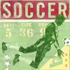 Game Ticket Soccer Canvas Wall Art