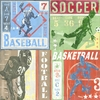 Game Tickets Team Sports Canvas Wall Art