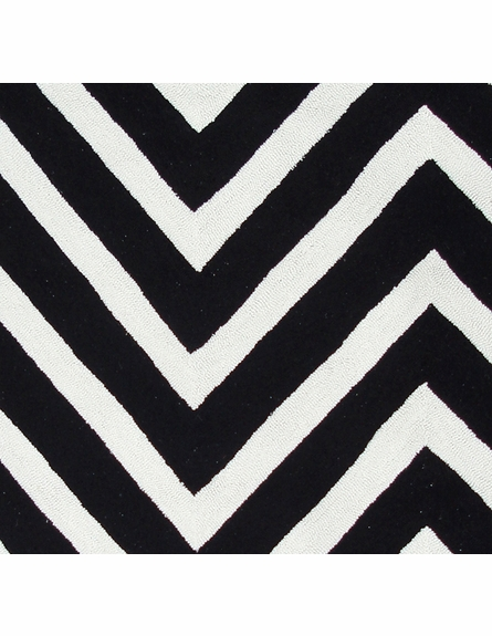 Gamma Black and White Rug