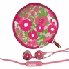 Lilly Pulitzer Garden By the Sea Ear Buds with Pouch