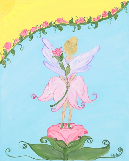 Garden Fairy Framed Art