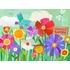 Garden Flowers Canvas Wall Art