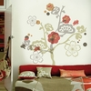 Garden of Paradise Flocked Wall Decal