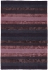 Gardenia Striped Rug in Plum