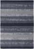 Gardenia Striped Rug in Slate