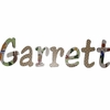 Garrett Sports Animals Hand Painted Wall Letters