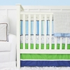 Gatlin Green and Blue Crib Bedding Set