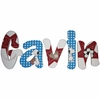 Gavin Snoopy Hand Painted Wall Letters