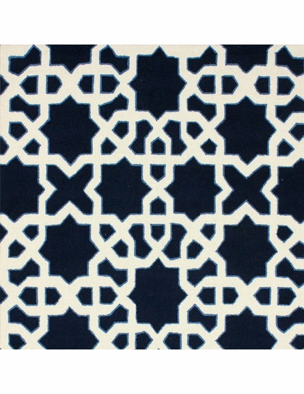 Gemma Rug in Navy