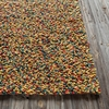 Gems Textured Rug in Yellow