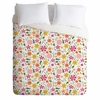 Genevieve Florals Pink Luxe Duvet Cover