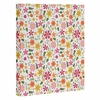 Genevieve Florals Pink Wrapped Canvas Art