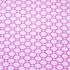 Geo-Circles Crib Sheet in White and Fuchsia