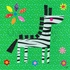 Geometric Zebra Canvas Wall Art