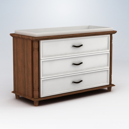 Georgian 3 Drawer Changer