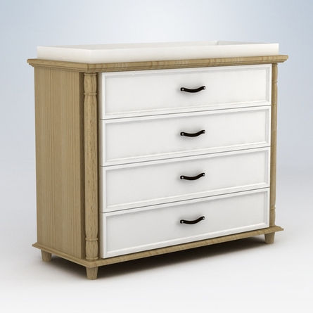 Georgian 4 Drawer Changer