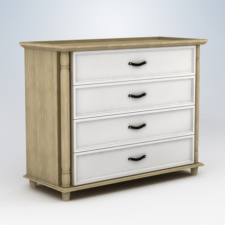 Georgian 4 Drawer Dresser