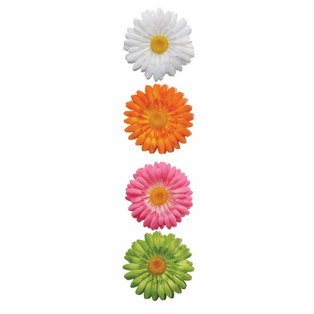 Gerber Daisies Wall Charms