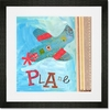 Get Movin Plane Framed Art Print