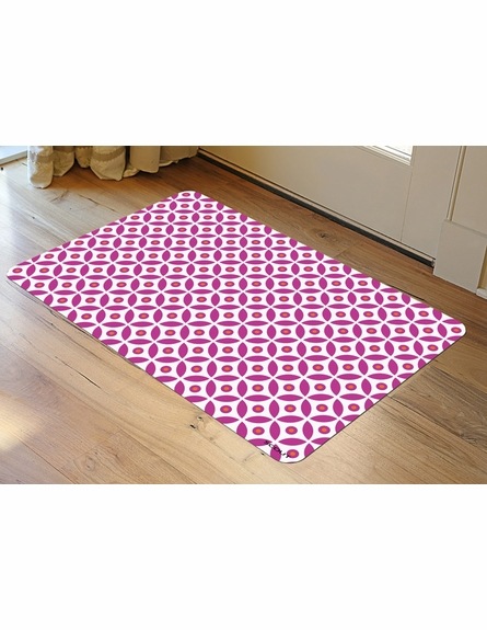 Getting Dot in Here Floor Mat