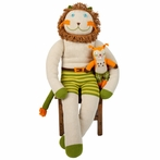 Giant Charles Knit Doll