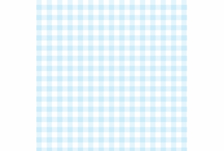 Giddy Gingham Removable Wallpaper in Baby Blue