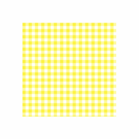 Giddy Gingham Removable Wallpaper in Canary Yellow