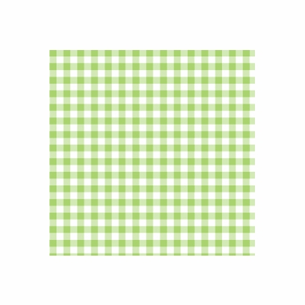 Giddy Gingham Removable Wallpaper in Lovely Lime