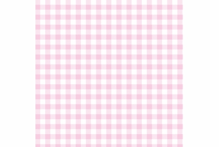 Giddy Gingham Removable Wallpaper in Powder Pink