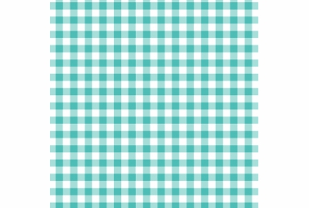 Giddy Gingham Removable Wallpaper in Seafoam Green