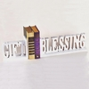 Gift and Blessing Letter Bookends