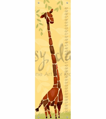 Gillespie Giraffe Growth Chart