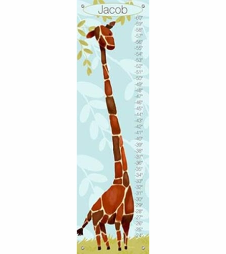 Gillespie Giraffe in Blue Growth Chart