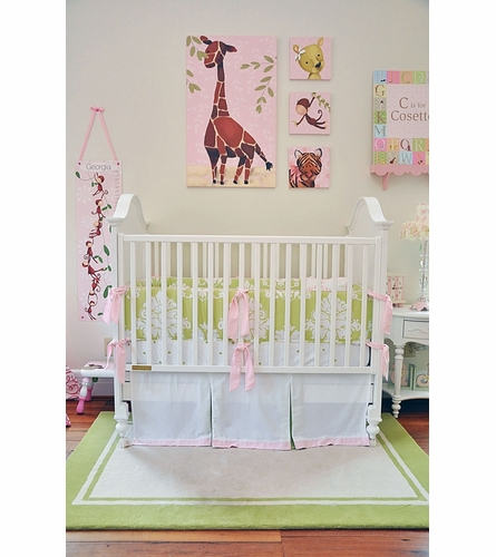 Gillespie Giraffe in Pink Growth Chart