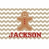Gingerbread Man Personalized Placemat