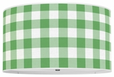 Gingham Kelly Green