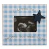 Gingham Star Sonogram Frame