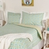 Gio Green Labyrinth Twin Comforter and Sham Set