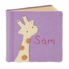 Giraffe Felt Applique Personalized Photo Album