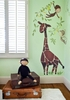Giraffe & Monkeys Peel & Place Wall Stickers