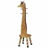 Giraffe Stool with Coat Rack