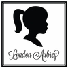 Girl Silhouette Personalized Self-Inking Stamp