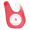 Girls 1st Christmas Personalized Bib
