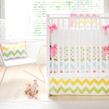 Girls Crib Bedding