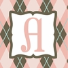 Girls Monogram Canvas Reproduction - A